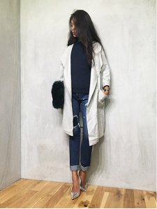 TODAYFUL トゥデイフル Wool Collarless Coat コート 11520011 【15AW1】【SALE】【30%OFF】<img class='new_mark_img2' src='https://img.shop-pro.jp/img/new/icons20.gif' style='border:none;display:inline;margin:0px;padding:0px;width:auto;' />
