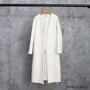 【SOLDOUT】TODAYFUL トゥデイフル Melton Long Coat 11620002 【16AW2】  <img class='new_mark_img2' src='//img.shop-pro.jp/img/new/icons47.gif' style='border:none;display:inline;margin:0px;padding:0px;width:auto;' />