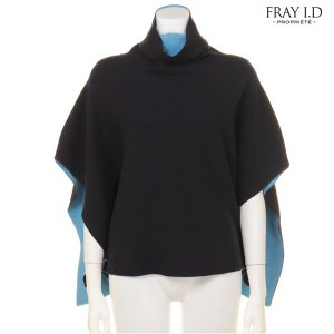 FRAYID フレイアイディー ハイネックニットポンチョ FWNT154106 【15AW1】【SALE】【30%OFF】<img class='new_mark_img2' src='//img.shop-pro.jp/img/new/icons20.gif' style='border:none;display:inline;margin:0px;padding:0px;width:auto;' />