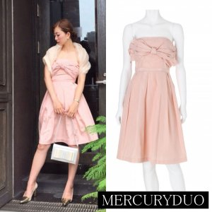 MERCURY マーキュリー 【DUO】 タフタリボンベアワンピース 001530301601 【15AW1】【SALE】【30%OFF】<img class='new_mark_img2' src='//img.shop-pro.jp/img/new/icons20.gif' style='border:none;display:inline;margin:0px;padding:0px;width:auto;' />