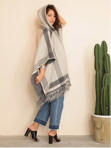 TODAYFUL トゥデイフル Reversible Check Poncho ポンチョ 11520111 【15AW2】【SALE】【30%OFF】<img class='new_mark_img2' src='https://img.shop-pro.jp/img/new/icons20.gif' style='border:none;display:inline;margin:0px;padding:0px;width:auto;' />