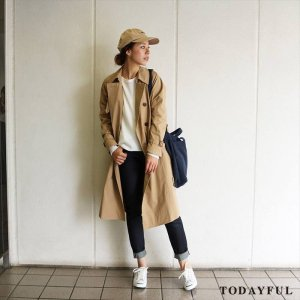 【SOLDOUT】TODAYFUL トゥデイフル TRENCH COAT 11620010 【16AW2】 <img class='new_mark_img2' src='//img.shop-pro.jp/img/new/icons47.gif' style='border:none;display:inline;margin:0px;padding:0px;width:auto;' />