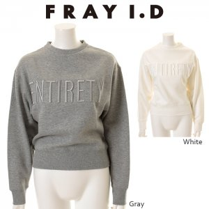 【SOLDOUT】FRAYID フレイアイディー ロゴスエットプルオーバー FWCT154100 【15AW1】【SALE】【40☆】<img class='new_mark_img2' src='https://img.shop-pro.jp/img/new/icons47.gif' style='border:none;display:inline;margin:0px;padding:0px;width:auto;' />