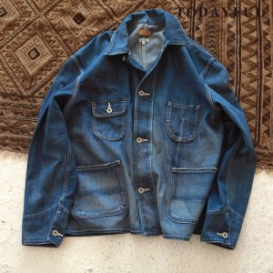TODAYFUL トゥデイフル Vintage Denim Coverall 11720110 【17AW2】【先行予約】【クレジット限定 納期10月〜11月頃予定】 <img class='new_mark_img2' src='https://img.shop-pro.jp/img/new/icons15.gif' style='border:none;display:inline;margin:0px;padding:0px;width:auto;' />