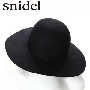 SNIDEL スナイデル ラウンドトップツバ広帽 SWGH155627 【15AW2】【SALE】【40%OFF】<img class='new_mark_img2' src='https://img.shop-pro.jp/img/new/icons20.gif' style='border:none;display:inline;margin:0px;padding:0px;width:auto;' />