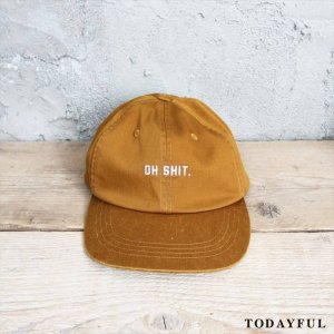 【SOLDOUT】TODAYFUL トゥデイフル Logo Cap 11621059 【16AW2】 <img class='new_mark_img2' src='https://img.shop-pro.jp/img/new/icons47.gif' style='border:none;display:inline;margin:0px;padding:0px;width:auto;' />