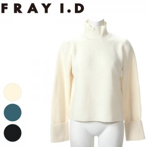 FRAYID フレイアイディー 片畦プルオーバー FWNT155010 【15AW2】【SALE】【40%OFF】<img class='new_mark_img2' src='https://img.shop-pro.jp/img/new/icons20.gif' style='border:none;display:inline;margin:0px;padding:0px;width:auto;' />