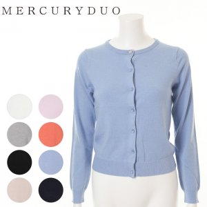 MERCURY マーキュリー 【BSC】 ビジュボタン付ベーシッククルーカーディガン 001610501001 【16SS1】【人気商品】<img class='new_mark_img2' src='https://img.shop-pro.jp/img/new/icons31.gif' style='border:none;display:inline;margin:0px;padding:0px;width:auto;' />