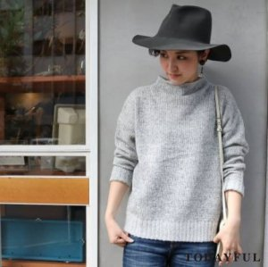 【SOLDOUT】TODAYFUL トゥデイフル Bottleneck Wool Knit 11620531 【16AW2】  <img class='new_mark_img2' src='//img.shop-pro.jp/img/new/icons47.gif' style='border:none;display:inline;margin:0px;padding:0px;width:auto;' />