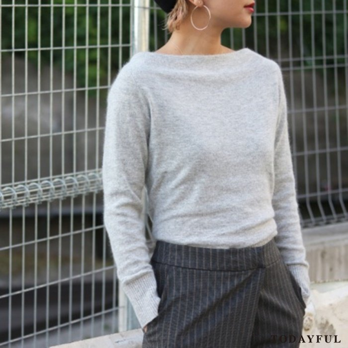 TODAYFUL トゥデイフル Boatneck Knit 11620533 【16AW2】 【SALE】【30%OFF】