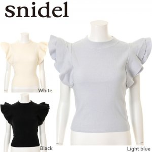 SNIDEL ���ʥ��ǥ� �ե��ǥ�����˥å�PO SWNT161089 ��16SS1�ۡڿ����<img class='new_mark_img2' src='http://diva-brandshop.com/img/new/icons11.gif' style='border:none;display:inline;margin:0px;padding:0px;width:auto;' />