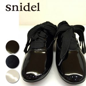 SNIDEL スナイデル ワイドシューレースシューズ SWGS146609 【14AW2】【SALE】【60%OFF】<img class='new_mark_img2' src='https://img.shop-pro.jp/img/new/icons20.gif' style='border:none;display:inline;margin:0px;padding:0px;width:auto;' />