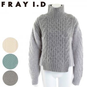 【SOLDOUT】FRAYI.D フレイアイディー コンビケーブルPO FWNT165227 【16AW2】【50☆】<img class='new_mark_img2' src='//img.shop-pro.jp/img/new/icons47.gif' style='border:none;display:inline;margin:0px;padding:0px;width:auto;' />