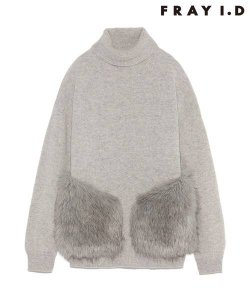 【SOLDOUT】FRAYI.D フレイアイディー フェイクファーコンビニットPO FWNT165279 【16AW2】【50☆】<img class='new_mark_img2' src='https://img.shop-pro.jp/img/new/icons47.gif' style='border:none;display:inline;margin:0px;padding:0px;width:auto;' />