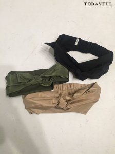 【SOLDOUT】TODAYFUL トゥデイフル Combination Hair Turban 11621067 【16AW2】 <img class='new_mark_img2' src='https://img.shop-pro.jp/img/new/icons47.gif' style='border:none;display:inline;margin:0px;padding:0px;width:auto;' />