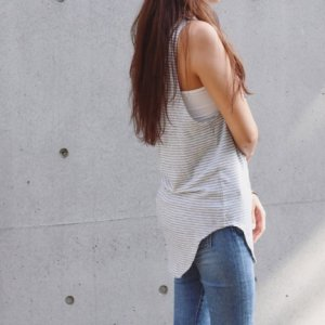 TODAYFUL トゥデイフル Border Long Tanktop 11610644 【16SS2】【SALE】【20%OFF】<img class='new_mark_img2' src='//img.shop-pro.jp/img/new/icons20.gif' style='border:none;display:inline;margin:0px;padding:0px;width:auto;' />