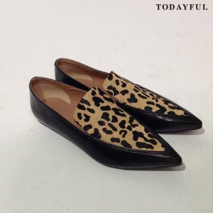 【SOLDOUT】TODAYFUL トゥデイフル Leopard Flat Shoes 11621074 【16AW2】 <img class='new_mark_img2' src='//img.shop-pro.jp/img/new/icons47.gif' style='border:none;display:inline;margin:0px;padding:0px;width:auto;' />