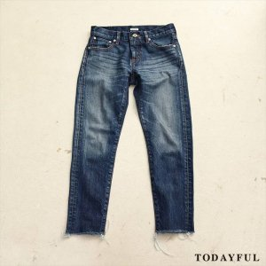【SOLDOUT】TODAYFUL トゥデイフル HELENA's Denim 11621409 【16AW2】 <img class='new_mark_img2' src='//img.shop-pro.jp/img/new/icons47.gif' style='border:none;display:inline;margin:0px;padding:0px;width:auto;' />