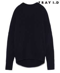 【SOLDOUT】FRAYI.D フレイアイディー バックVチェーンニット FWNT165281 【16AW2】【50☆】<img class='new_mark_img2' src='https://img.shop-pro.jp/img/new/icons47.gif' style='border:none;display:inline;margin:0px;padding:0px;width:auto;' />