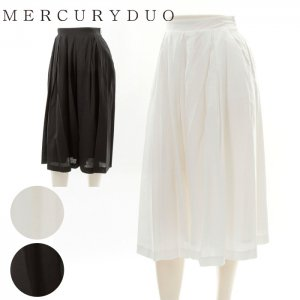 MERCURY マーキュリー 【DUO】 タックフレアーガウチョPT 001620700501 【16SS2】【SALE】【50%OFF】<img class='new_mark_img2' src='//img.shop-pro.jp/img/new/icons20.gif' style='border:none;display:inline;margin:0px;padding:0px;width:auto;' />