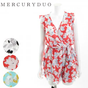 MERCURY マーキュリー 【DUO】 センシュアルフラワーロンパース 001620300901 【16SS2】【SALE】【50%OFF】<img class='new_mark_img2' src='//img.shop-pro.jp/img/new/icons20.gif' style='border:none;display:inline;margin:0px;padding:0px;width:auto;' />