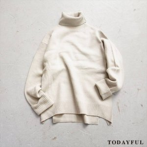 【SOLDOUT】TODAYFUL トゥデイフル Boiled Wool Knit 11620539 【16AW2】  <img class='new_mark_img2' src='//img.shop-pro.jp/img/new/icons47.gif' style='border:none;display:inline;margin:0px;padding:0px;width:auto;' />