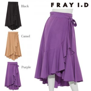 【SOLDOUT】FRAYI.D フレイアイディー ラッフルスカート FWFS174510 【17AW1】【60☆】<img class='new_mark_img2' src='https://img.shop-pro.jp/img/new/icons47.gif' style='border:none;display:inline;margin:0px;padding:0px;width:auto;' />