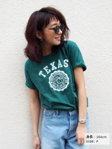 UNGRID アングリッド 【Casual】TEXASプリントTee 111620630501 【16SS2】【人気商品】<img class='new_mark_img2' src='//img.shop-pro.jp/img/new/icons31.gif' style='border:none;display:inline;margin:0px;padding:0px;width:auto;' />