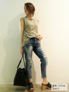 UNGRID アングリッド 【Classy】バックデザインT/T 111620607001 【16SS2】【SALE】【20%OFF】<img class='new_mark_img2' src='//img.shop-pro.jp/img/new/icons20.gif' style='border:none;display:inline;margin:0px;padding:0px;width:auto;' />