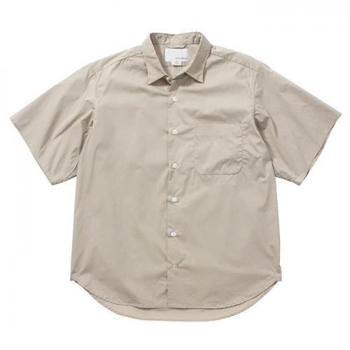 nanamica-ナナミカ- Wind Half Sleeve Shirt-LB-