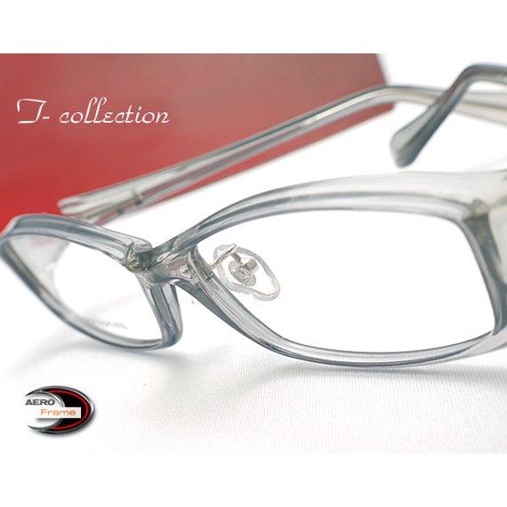 【メガネ通販】T-Collection Eyewear エアロフレーム Gray 超弾力性新素材TR90 フルリム眼鏡  《今だけ送料無…