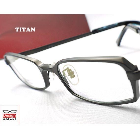 【メガネ通販】T-Collection フルリム チタン素材 Gray 眼鏡一式 《今だけ送料無料》