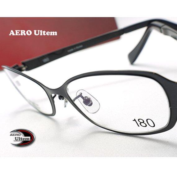 【メガネ通販】エアロウルテム AERO eyewear Gun 注目の新素材ULTEM 超タフ・超軽量×フロントメタル《今だけ送料無料》