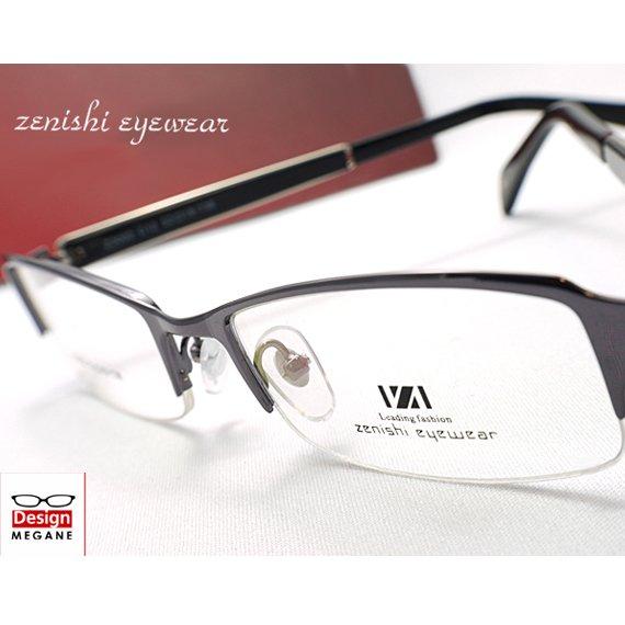【メガネ通販】zenishi Eyewear ハーフ...