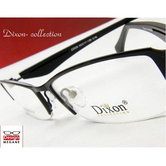 【メガネ通販】Dixon Collection エアロフレーム 超弾力性新素材 black 眼鏡一式 《今だけ送料無料》