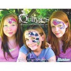 Quirglesの気まぐれな世界(フェイスペインティング・デザイン集)