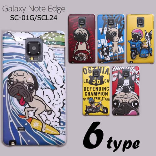 GALAXY Note Edge SC-01G/SCL24 ケースカバー けいすけ デザイン スマートフォンケース