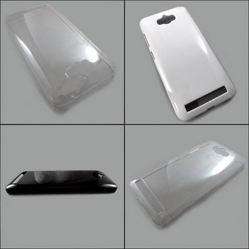 ASUS ZenFone max ZC550KL ケースカバー 無地 スマートフォンケース