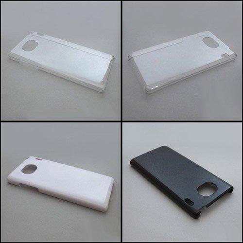Qua phone QX KYV42/DIGNO V ケースカバー 無地 スマートフォンケース