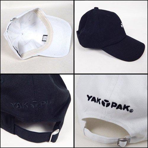 YAKPAK ロゴ刺繍コットンキャップ DS178