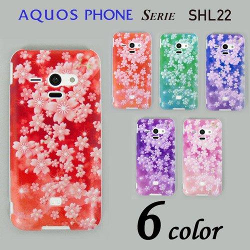 59dc7db2a1 AQUOS PHONE SERIE SHL22 ケースカバー 桜柄 スマートフォンケース au - メンズセレクトショップ ディアブロス