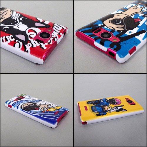 AQUOS PHONE SERIE mini SHL24 ケースカバー けいすけ デザイン スマートフォンケース au