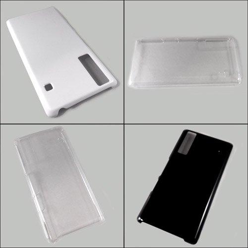 Qua phone KYV37 ケースカバー 無地 スマートフォンケース au