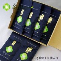 【P-11】斉藤園オリジナル 高級煎茶100g 5個&くき茶特撰100g 5個箱入