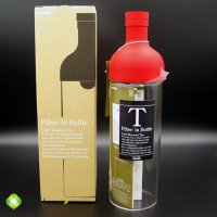 Filter-in Bottle (HARIO)750mlタイプ(RED)