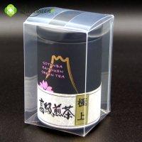 【N-1】斉藤園オリジナル 高級煎茶 極上 100g缶入(クリアケース入り)