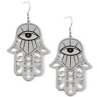 <img class='new_mark_img1' src='//img.shop-pro.jp/img/new/icons20.gif' style='border:none;display:inline;margin:0px;padding:0px;width:auto;' />【KILL STAR】HAMSA EARRINGS [S]