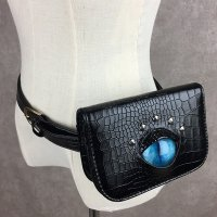 【MALICIOUS.X】CAT EYE WAIST BAG / BLUE