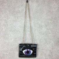 【MALICIOUS.X】EYE SHOULDER BAG / CROCO