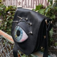 【MALICIOUS.X】EYE SHOULDER BAG / BLUE